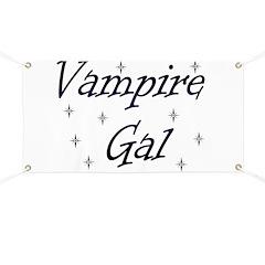 Vampire Gal Banner