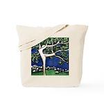 Dancing Tree Tote Bag