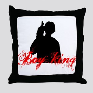 Boy King 2 Throw Pillow