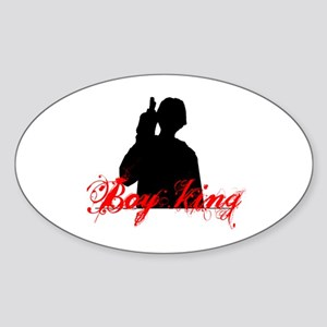 Boy King 2 Sticker (Oval)