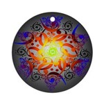 Hexa Mandala Ornament (Round)