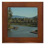 Abbotsford BC Framed Tile