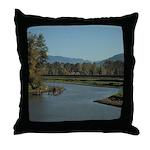 Abbotsford BC Throw Pillow