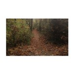 Autumn Path Decal Wall Sticker
