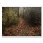 Autumn Path Small Poster