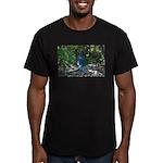 Steller's Jay Men's Fitted T-Shirt (dark)
