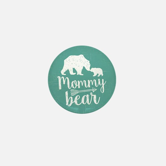 Mommy Bear Mini Button
