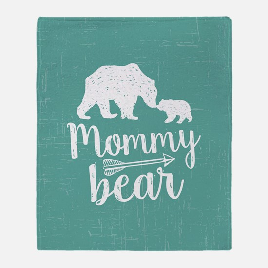 Mommy Bear Throw Blanket