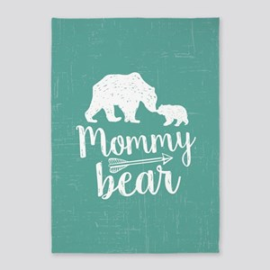 Mommy Bear 5'x7'Area Rug
