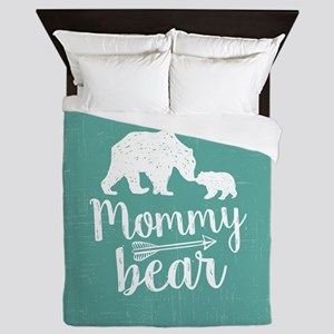 Mommy Bear Queen Duvet