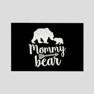 Mommy Bear Rectangle Magnet