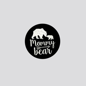 Mommy Bear Mini Button