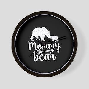 Mommy Bear Wall Clock