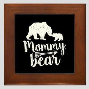 Mommy Bear Framed Tile