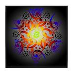 Hexa Mandala Tile Coaster