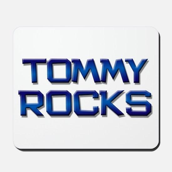 tommy rocks Mousepad