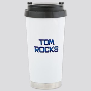 tom rocks Stainless Steel Travel Mug
