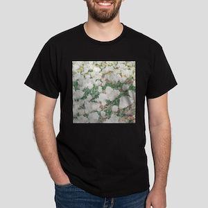 WHITE FLOWERS_206 Dark T-Shirt