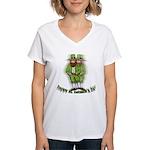 St. Patrick's Women's V-Neck T-Shirt