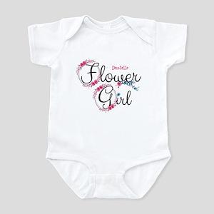 Flower Girl Custom Infant Bodysuit