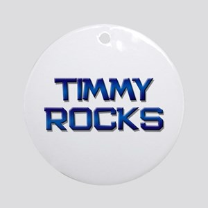 timmy rocks Ornament (Round)