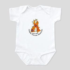 Flower Ribbon MS Infant Bodysuit