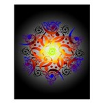 Hexa Mandala Small Poster