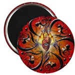 """Fires of Love 2.25"""" Magnet (100 pack)"""
