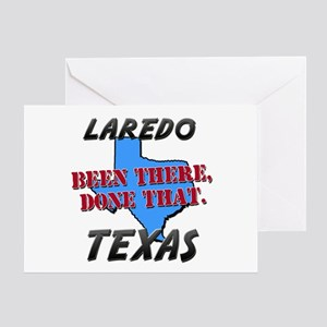 laredo texas - been there, done that Greeting Card