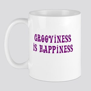 Grooviness is Happiness Mug