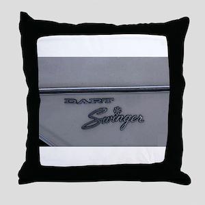 Dodge Dart Throw Pillow