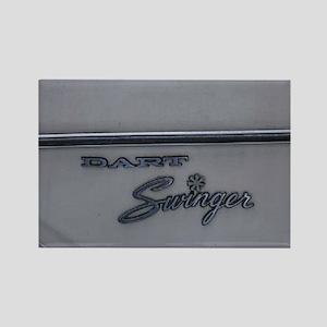 Dodge Dart Rectangle Magnet