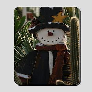 Desert Snowman Mousepad