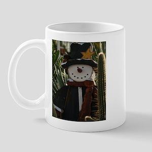 Desert Snowman Mug