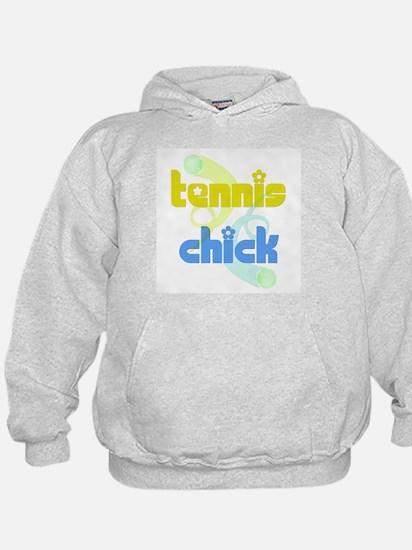 Tennis Chick Hoodie