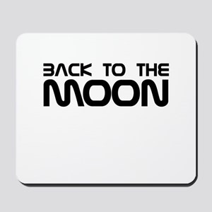 Back to the Moon Mousepad