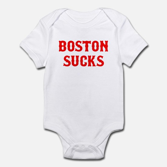 Boston Sucks Infant Bodysuit