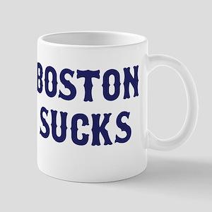 Boston Sucks Mug