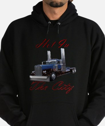 Hot In The City Hoodie (dark)