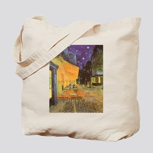 Van Gogh Cafe Terrace at Night Tote Bag