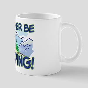 I'D RATHER BE CAMPING! Mug