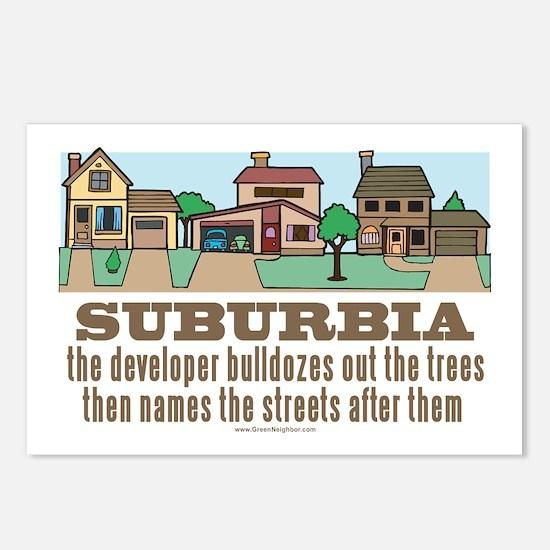 Suburban Sprawl Postcards (Package of 8)
