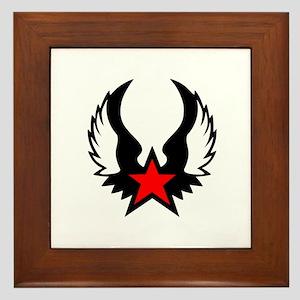Star - Wings Framed Tile
