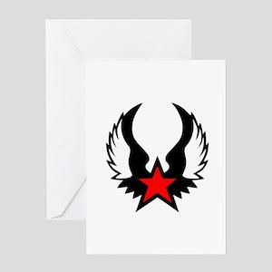 Star - Wings Greeting Card