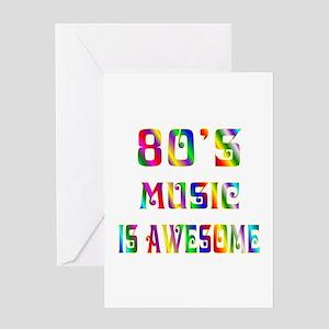 80's Music Greeting Card