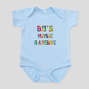 80's Music Infant Bodysuit