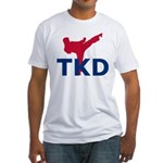 Taekwondo Fitted T-Shirt