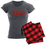 TKD TaeKwonDo Women's Charcoal Pajamas