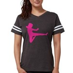Karate Girl Womens Football Shirt