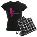 Karate Girl Women's Dark Pajamas